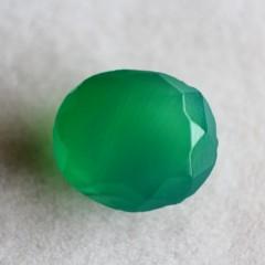 Natural Green Onyx  - 4.36 carats