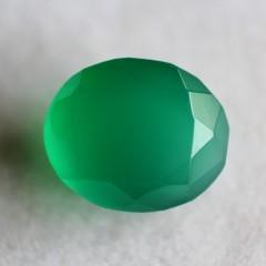 Natural Green Onyx  - 4.96 carats