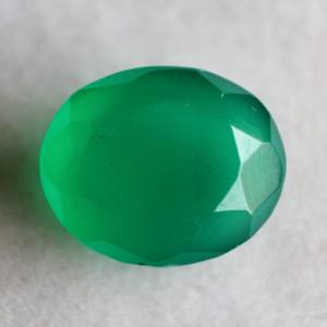 Natural Green Onyx  - 6.17 carats