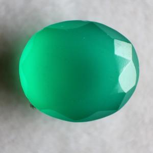 Natural Green Onyx  - 6.61 carats
