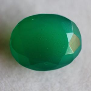 Natural Green Onyx  - 6.8 carats