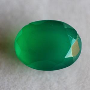 Natural Green Onyx  - 6.28 carats