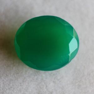 Natural Green Onyx  - 6.07 carats