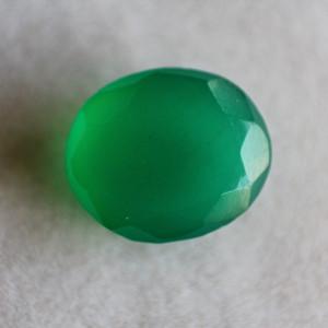 Natural Green Onyx  - 4.59 carats