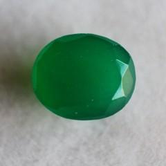 Natural Green Onyx  - 4.91 carats