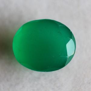 Natural Green Onyx  - 6.15 carats