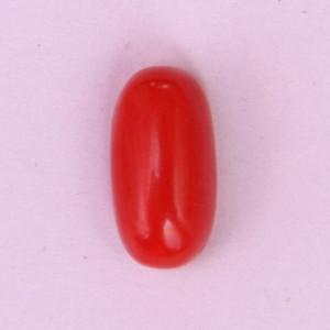Natural Red Coral (Moonga) - 8.55 carats