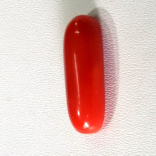 Natural Red Coral (Moonga) - 4.73 carats